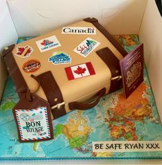Cake Decorating Equipment Usa : 1000+ images about Bon Voyage Cake Ideas on Pinterest ...