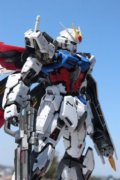 Custom Build: MG 1/100 Aile Strike Gundam Ver. RM [Detailed] - Gundam Kits Collection News and Reviews