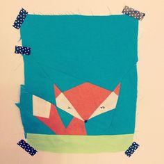 Lil' fox #firstquiltingattempt | Flickr - Photo Sharing!