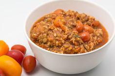 Hovkonditorn: Soy-Lentil-Vegetable Bolognese