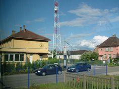 Bahnhofsgebäude von Roeschwoog am 25.07.2009.