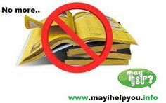 May i help you is the super brand in india. Don't search in hard copies just go through http://www.mayihelpyou.info/