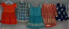 AUGUSTA AUCTIONS CHILDRENS | FIVE CHILDREN'S WOOL GARMENTS, 1850-1875