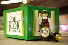 De Klok Bier in krat exclusief bij C1000, en dus gewoon lekker bier.