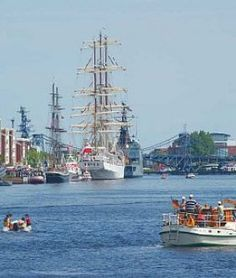 Großer Hafen - Wilhelmshaven, © Wilhelmshaven Touristik & Freizeit GmbH