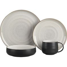 18th St. 16-Piece Dinnerware Set // Crate and Barrel