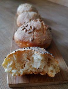 Cuisi'Ness - Cuisine rapide et facile pour parents pressés ! Muffin, Parents, Breakfast, Food, No Knead Bread, Bread Maker Machine, Quick Recipes, Bakery Business, Dads