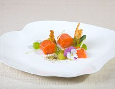 Gravlax (Cured Salmon) cooked sous vide with SousVide Supreme -- only 3 ingredients to make this luxurious dish at a fraction of the price at restaurants.  So easy! Recipe by 'SousVide The Art of Precision Cooking'.