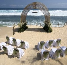 That's beautiful... My kind of wedding... If it's not in a church then a beach would be great..