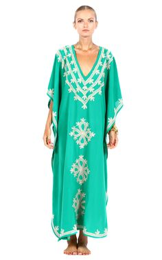 this color! Pas Pour Toi Kashi Kaftan at Moda Operandi