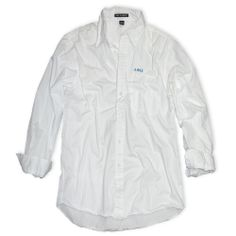 Campus Classics - On Sale! Alpha Phi Omega White Button Down Shirt: $24.95