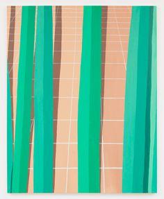 Corydon Cowansage, Patio #2, 2013, 40 x 50 inches, oil on canvas