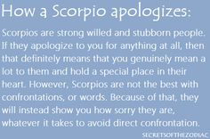 Ugh! I am too stubborn at times. Yes... if you get an apology... you really mean a lot.