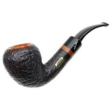 Italian Estate Tobacco Pipes: Savinelli Collection 1999 Sandblasted Acorn (6mm) (Unsmoked)