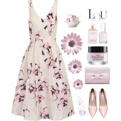 Lou by molly2222 on Polyvore featuring polyvore, fashion, style, Chi Chi, L'Oréal Paris, Victoria's Secret, Essie and clothing