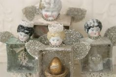 Glitter angels-I think these are simply stunning.