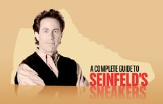 A guide to Jerry Seinfeld's sneakers. #sneakers