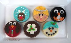 Christmas Chocolate Covered Oreos | Flickr - Photo Sharing!