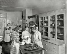 "090 | 1912 | ""Neighborhood House kitchen"" 