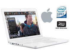 "Apple MacBook w/ 13.3"" Display, Intel Core 2 Duo, 2GB RAM, 250GB Hard Drive, GeForce 320M Graphics, WiFi, Bluetooth, DVD±RW"
