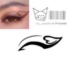 Overlays Picsart, Aesthetic Template, Makeup Inspo, Pj, Ulzzang, Eyeliner, Filter, Digital Art, Make Up