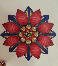 Kindness Rocks, Zen Art, Mandala Coloring, Gel Pens, Mandala Art, Yard Art, Doodle Art, 4th Of July Wreath, Color Combos