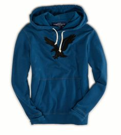a51654b1279 AE Ultra-Soft Graphic Pullover Hoodie