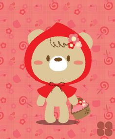 Little Red Riding Hood Bear by corpsing, via Flickr