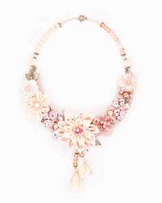 LOTUS | colier statement floral