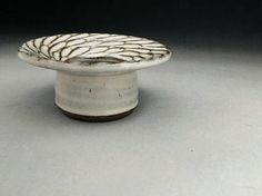 Jeff Brown Ikebana Vase with Sculpted Design Made to Order.