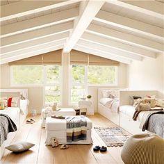 Blanco dormitorio infantil con hasta nueve camas_00322405 21