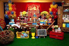 Festa Circo - Mesa principal
