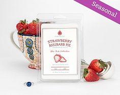 Strawberry Rhubarb Pie Wax Tarts