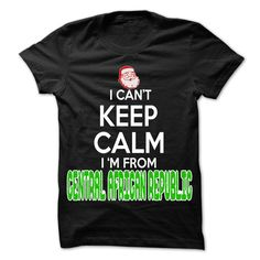Keep Calm Central African Republic Christmas Time T-Shirts, Hoodies. SHOPPING…