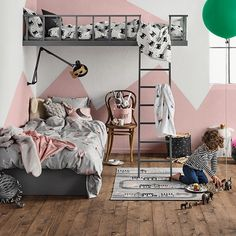 This awesome room makes us want to be kids again! #HMHome