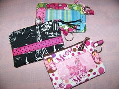 Sale Zip ID Case with Key Ring and Coin purse pdf Pattern Tutorial with Immediate Download by civilwarlady on Etsy