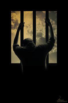 God sets us free from our prison bars Alone Photography, Shadow Photography, Dark Photography, Creative Photography, Black And White Photography, Photography Poses, Street Photography, Story Inspiration, Writing Inspiration