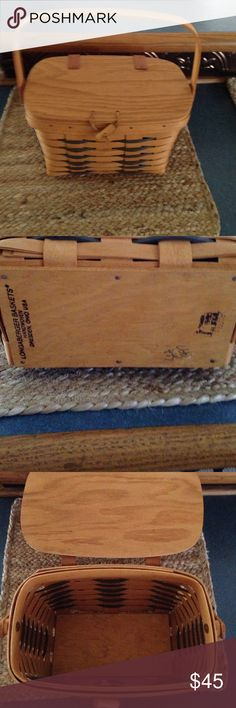 Longaberger basket Longaberger purse style basket . Great shape longaberger Other