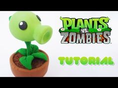 Boligrafo Decorado Plants Vs Zombies porcelana fria TUTORIAL FACIL!! - YouTube