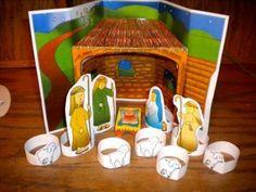 Printable Nativity Crafts