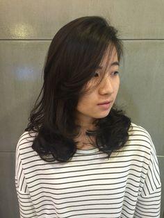 彰化 INN salon - Edison   Hair style 中長髮 溫塑燙 捲髮造型。  為你打造專屬個人風格造型 ☎️04-7282820