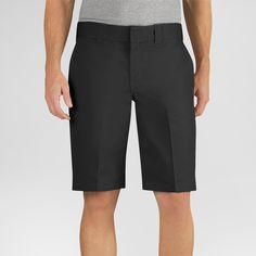 Dickies Men's Big & Tall Relaxed Fit Flex Twill 11 Short- Black 44