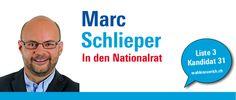 """""""Für einen starken und vernetzten Wirtschafts- und Forschungsstandort Schweiz."""" http://marcschlieper.wahlenzuerich.ch"""