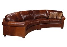 Legacy Leather | UrbanCabin Benson Sectional