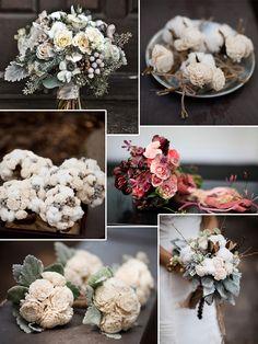 Wintry fleurspiration #bouquet #flowers #wedding #bridal