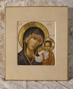 Byzantine Icons, Byzantine Art, Religious Icons, Religious Art, Queen Of Heaven, Holy Quotes, Blessed Mother Mary, Madonna And Child, Art Icon
