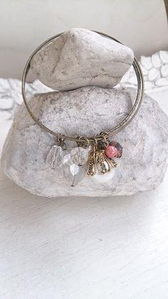 Pretty Bangles Crystal Charm Bracelet by CeliaElizabethJewels