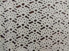 Crochet: Punto Abanico # 12 - YouTube