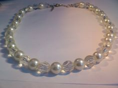 Vintage Ladies Beaded Necklace 1620 inch by My3LadiesJewelry, $7.95