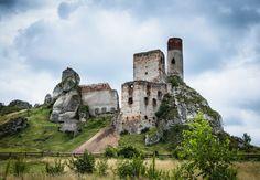 Ruiny zamku w Olsztynie - (2016-07-16)